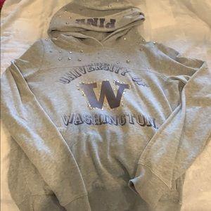 PINK university of Washington sweatshirt